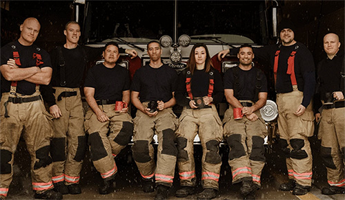 Fire Department Coffee Photo